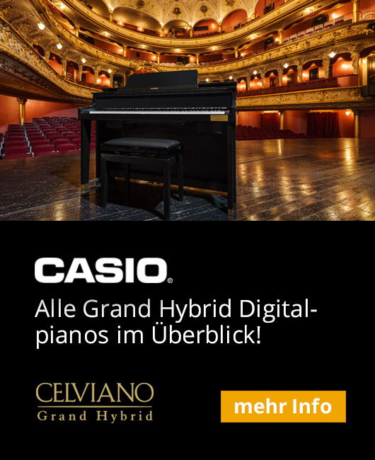 Casio Grand Hybrid Digitalpianos Sidebar