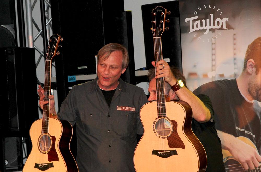 Taylor Road Show 2015 im Musikhaus Kirstein Schongau