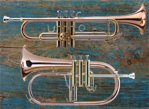 Hohes Blech: Flügelhorn und Trompete – Unterschiede und Gemeinsamkeiten