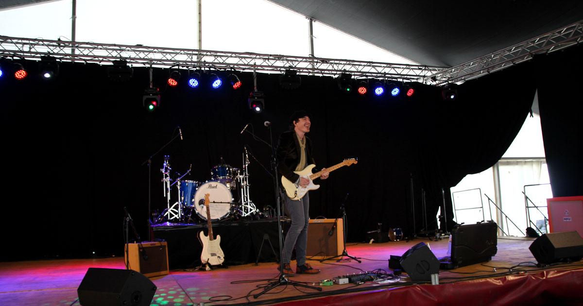 Marcus Deml live bei der MusiConnect auf der Event-Stage