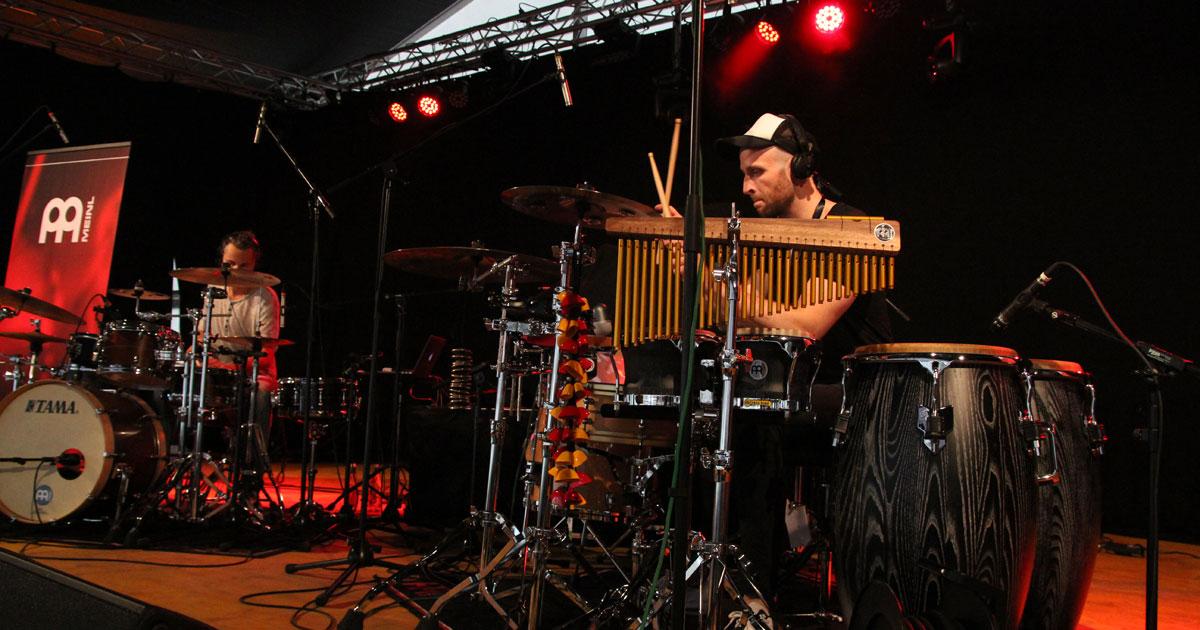 Dreschheads live auf der Eventstage bei der MusiConnect