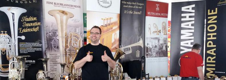 Die Kirstein-Bläserabteilung hat sich sehr gefreut, als Aussteller beim Bezirksmusikfest in Hohenfurch dabei zu sein.