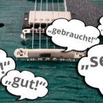 Schnäppchen: Retouren und gebrauchte Instrumente