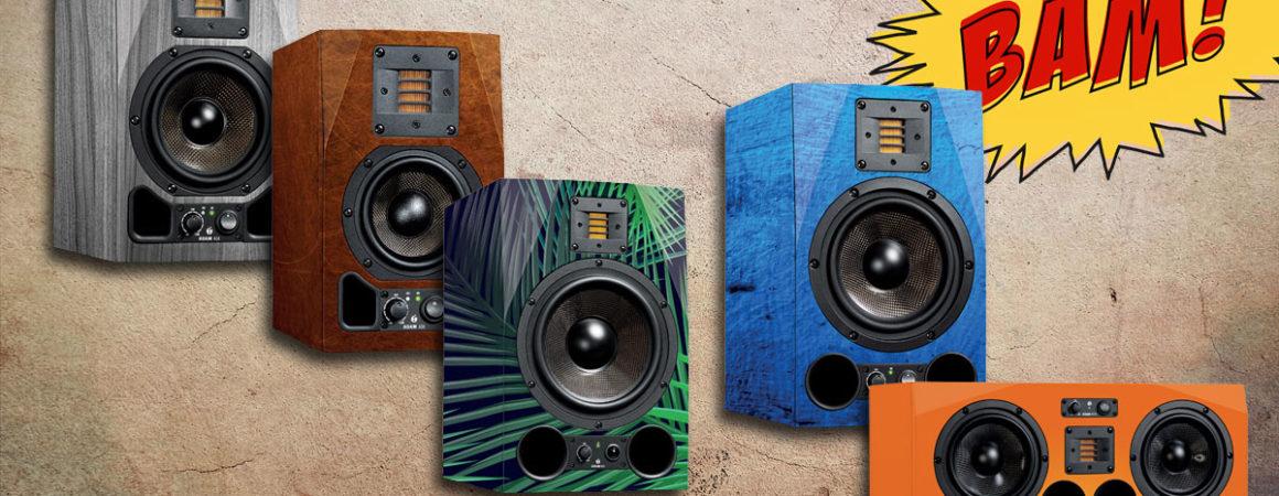 ADAM Audio: Skins für Monitore der AX-Serie