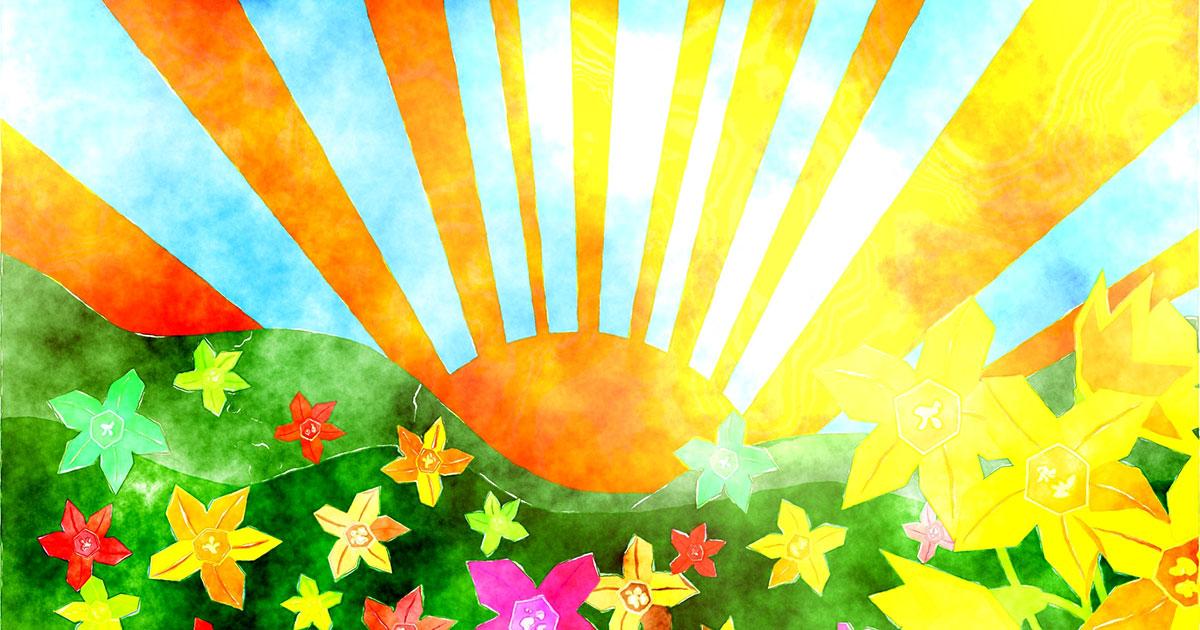 Hier kommt die Sonne!