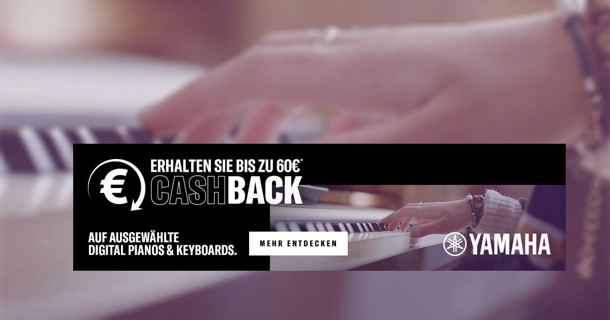 Yamaha Cashback-Aktion