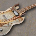 DIY: Gitarre im Industrial Steampunk Design
