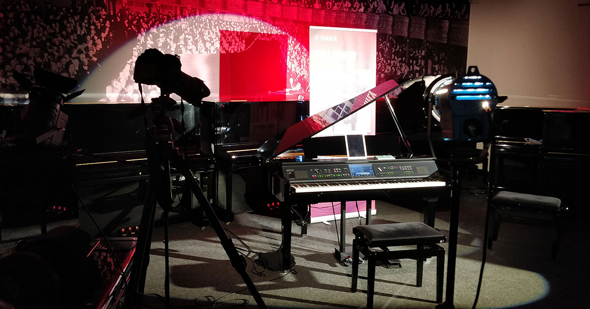 Yamaha-Videodreh in Schongau