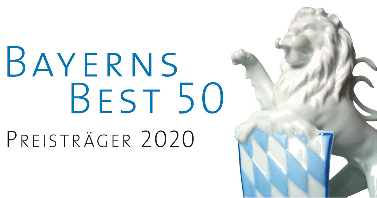 Signet Bayerns Best 50 Preisträger 2020