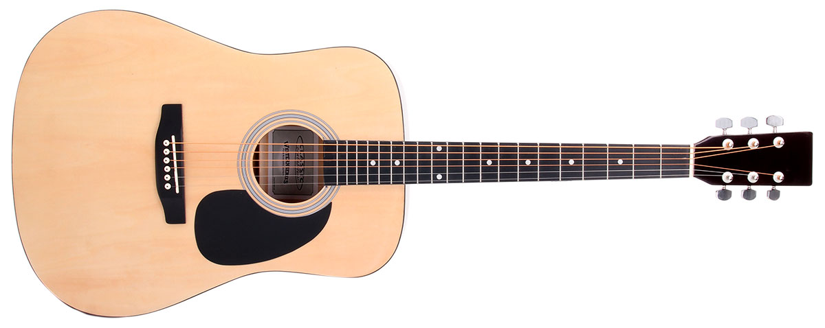 Die Einsteiger-Westerngitarre Classic Cantabile WS-10 klingt sehr gut und ist für jeden erschwinglich.