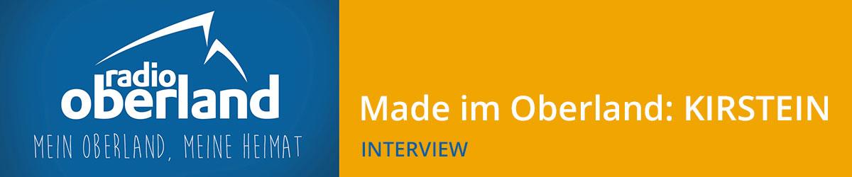 Radio Oberland: Firmenportrait Musikhaus Kirstein (Interview)