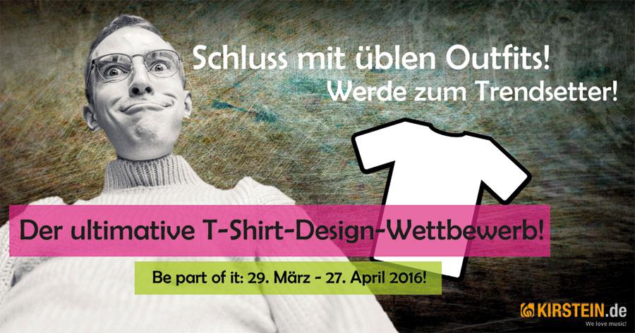 Sei dabei beim ultimativen Kirstein T-Shirt-Design-Wettbewerb!