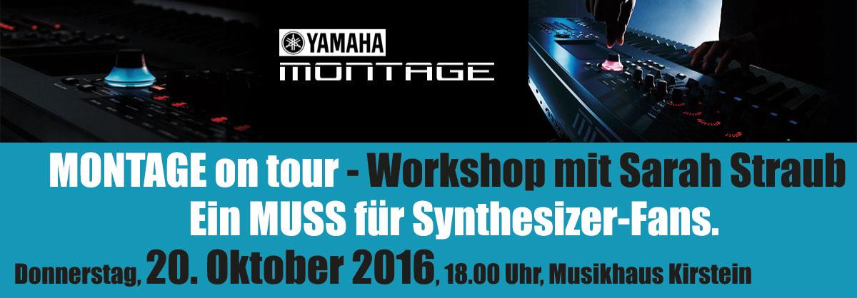 Am 20. Oktober 2016 gehen Synthesizer-Fans im Musikhaus Kirstein auf eine spannende Erkundungstour!