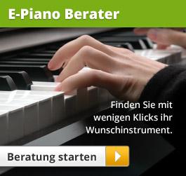 E-Piano Berater: Finden Sie mit wenigen Klicks ihr Wunschinstrument.