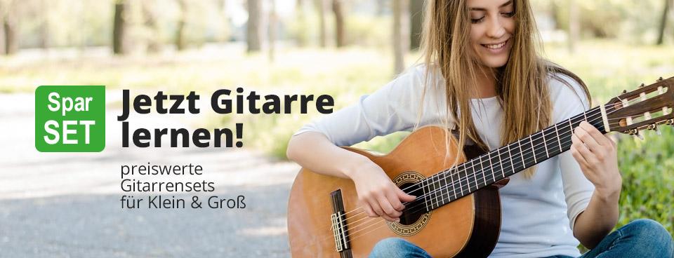 Jetzt Gitarre lernen