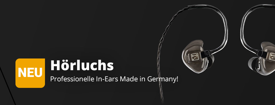 Hörluchs In Ear Made in Germany