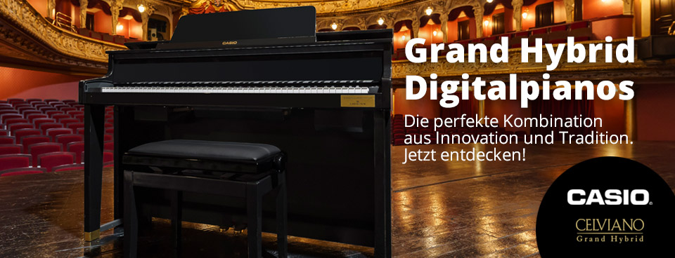 Casio Grand Hybrid Pianos