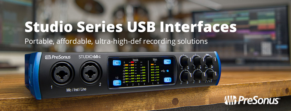 Presonus Studio Series USB Interfaces