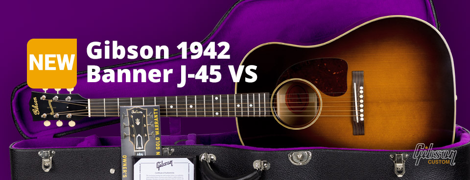 Gibson 1942 Banner J-45 VS