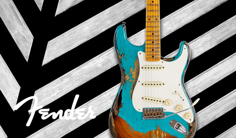 Fender Custom LTD 1957 Heavy Relic Strat TTQ/2TS