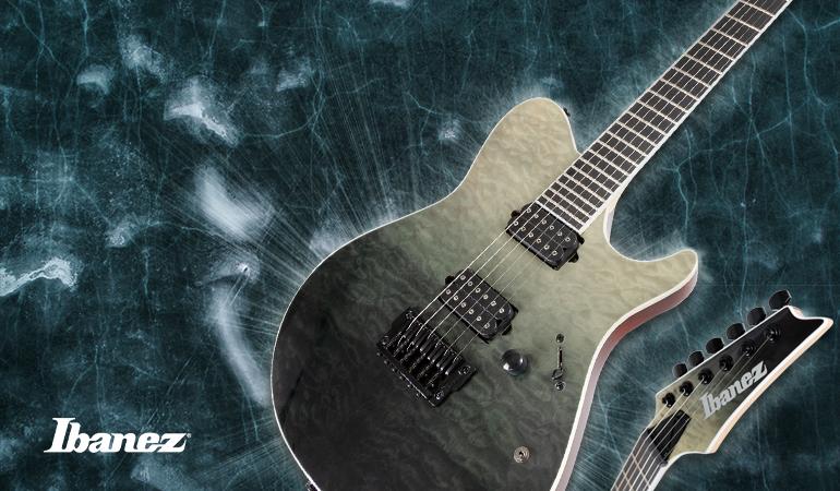 Ibanez FRIX6FDQM-BMG Iron Label