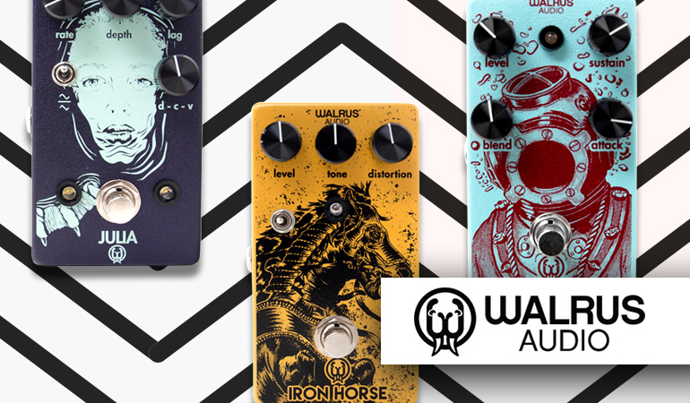 WALRUS AUDIO Effectpedalen