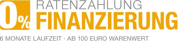 Banner Nullprozent-Finanzierung