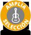 Amplia selección de instrumentos musicales, equipos y mucho más