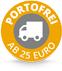 Kostenloser Versand ab 25 Euro Warenwert!