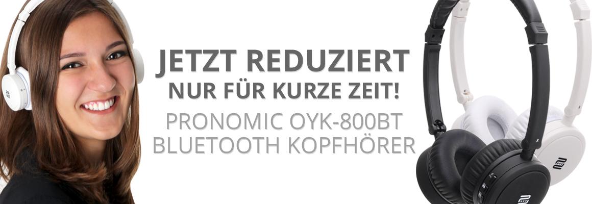 Pronomic OYK-800BT Bluetooth Kopfhörer
