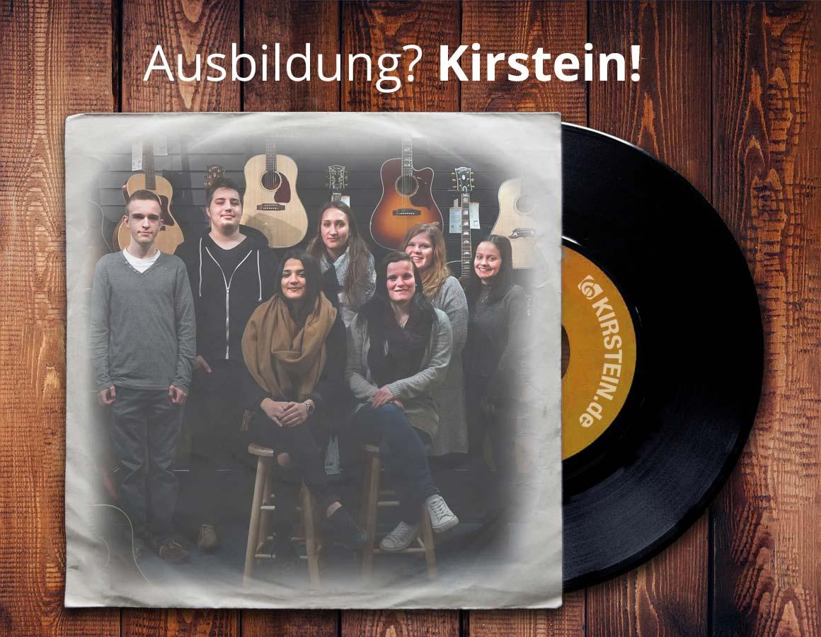 Azubi Foto Schallplatte