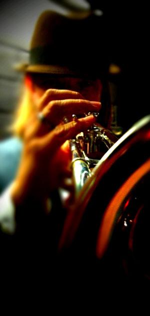 Rüdiger Baldauf ist ein genialer Jazztrompeter. Foto © Rüdiger Baldauf.