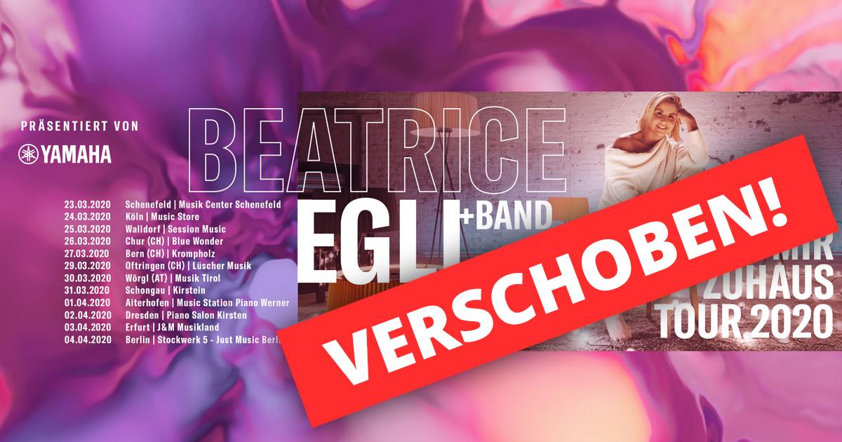 Beatrice Egli hautnah im Musikhaus Kirstein erleben bei der Bei mir zuhaus Tour 2020!