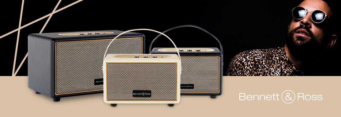 Bennett & Ross Blackmore Bluetooth Lautsprecher