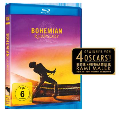 Blu-Ray Bohemian Rhapsody gewinnen!
