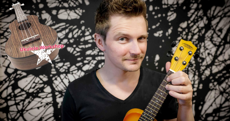 Manfred Guggemos wird am Aktionstag Deutschland macht Musik einen Ukulele-Workshop anbieten.