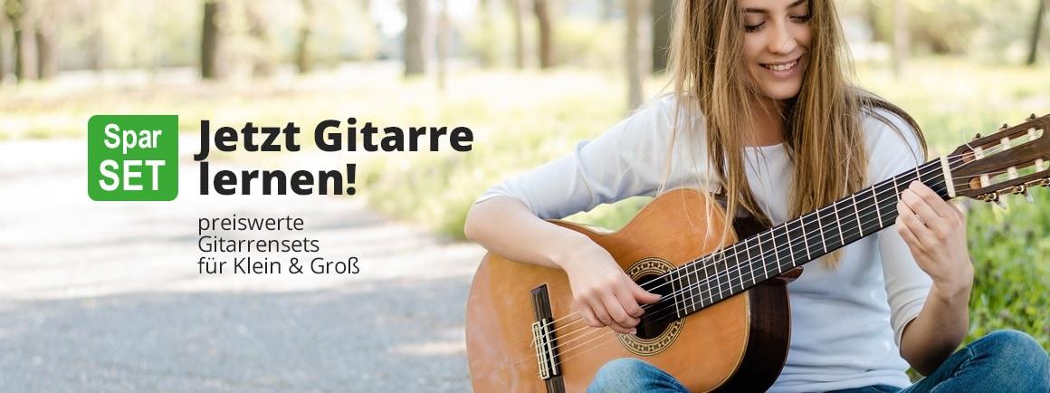 Preiswerte Gitarrensets für Klein & Groß