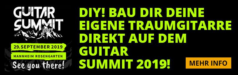 Guitar Summit DIY Area