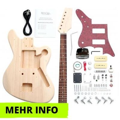 E-Gitarre Bausatz JAG-Style