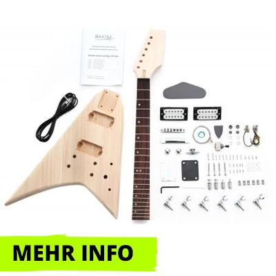 E-Gitarre Bausatz RR-Style