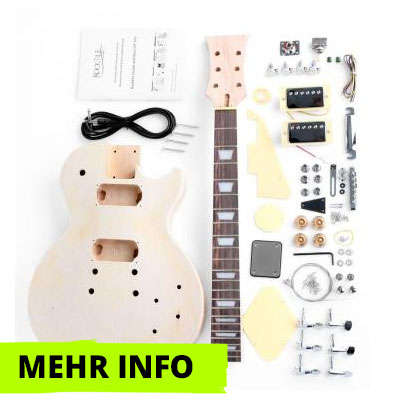 E-Gitarre Bausatz Single Cut-Style