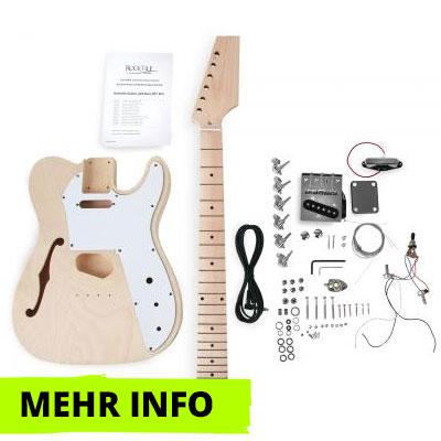E-Gitarre Bausatz Hollowbody TL-Style