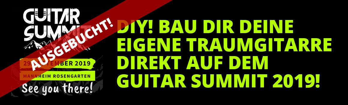 Kirstein auf dem Guitarsummit - Bau Dir deine eigene Traumgitarre!