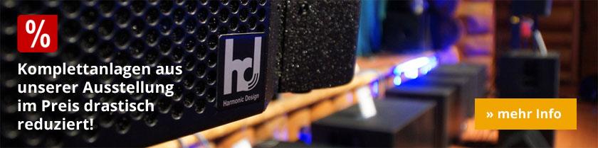 Harmonic Design Komplettanlagen reduziert