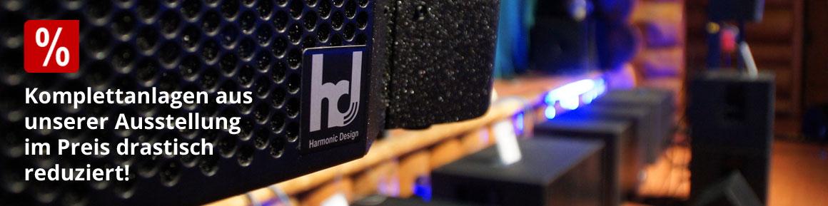 Harmonic Design Komplettanlagen aus unserer Ausstellung im Preis drastisch reduziert!