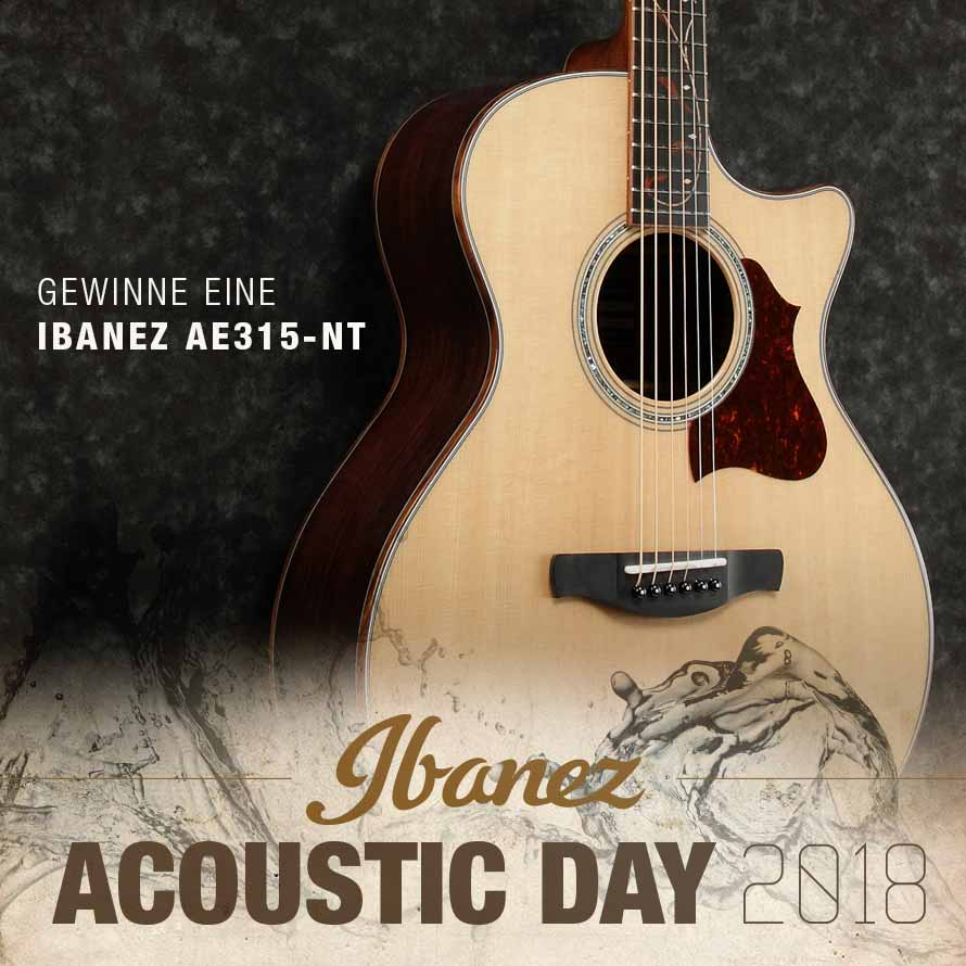 Gewinne eine Ibanez Akustikgitarre!