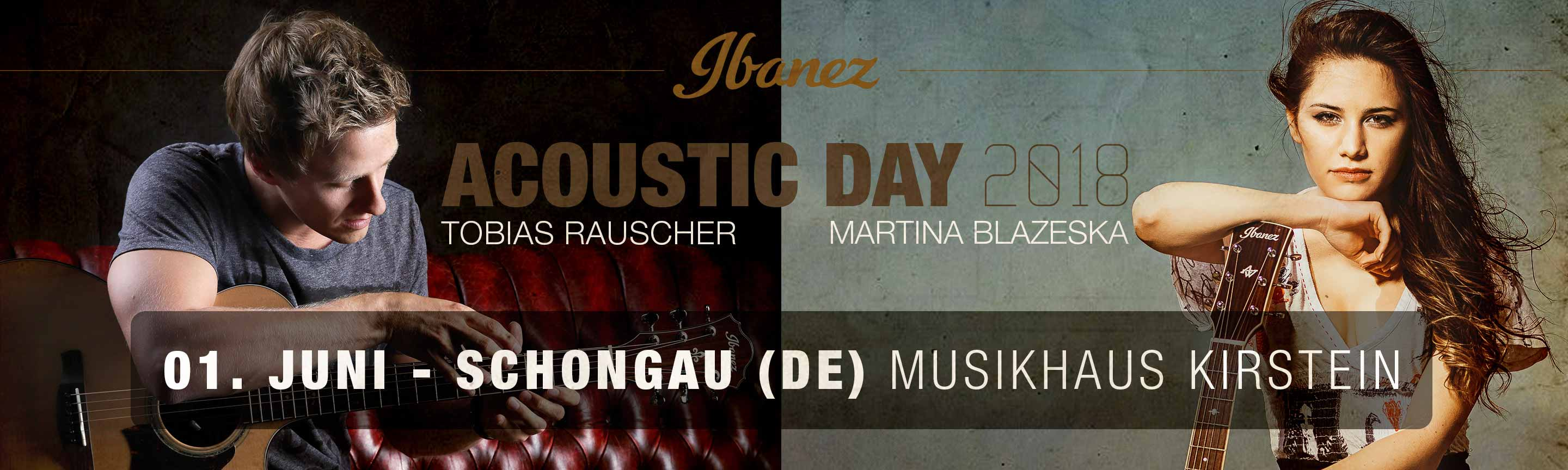 Ibanez Acoustic Day 2018