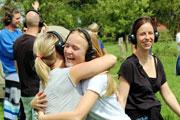Beatfoxx Silent Guide Kopfhörer im Einsatz beim Körperfunkkollektiv