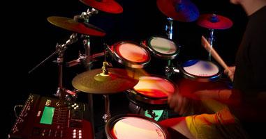 E-Drum-Workshop mit Ralf Mersch.