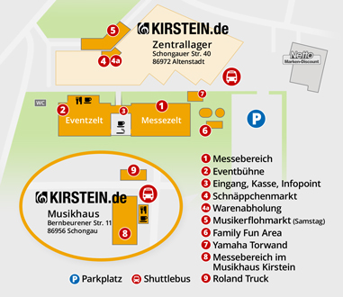 Messe Locations
